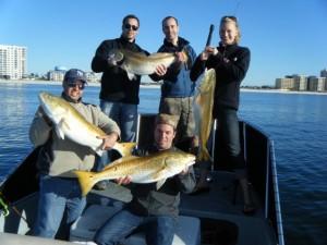 Nearshore Fishing Redfish