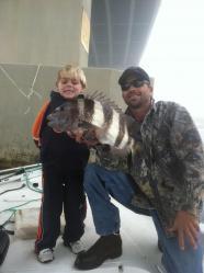Inshore Fishing Sheepshead