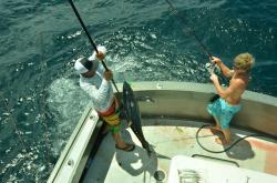 Deep Sea Fishing Tuna