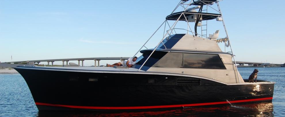 Saltwater fishing charters and fishing guides for Deep sea fishing perdido key