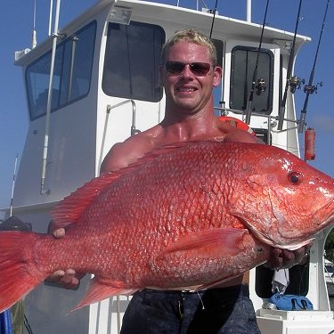 Offshore fishing Red Snapper