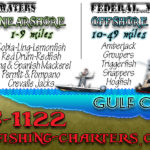 Orange Beach fishing charter areas