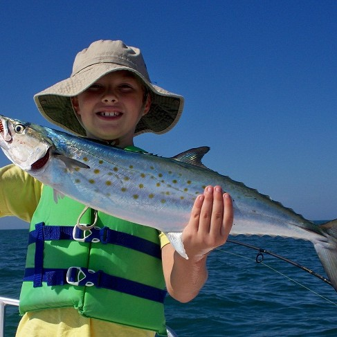 Nearshore Fishing Spanish Mackerel