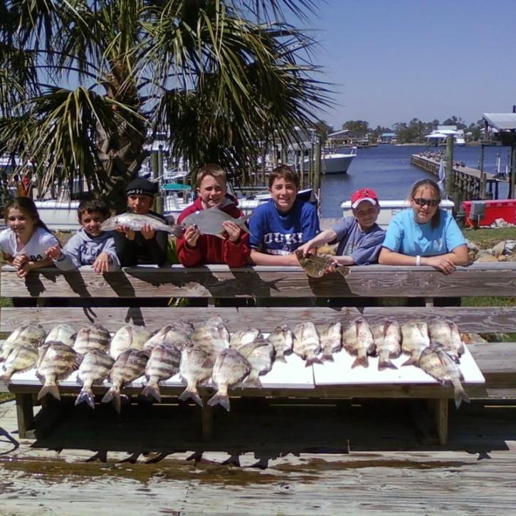 Inshore Fishing Pompano & Sheepshead