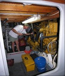 Sea Hunter engine room