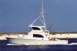 Sea Hunter cruising in Orange Beach