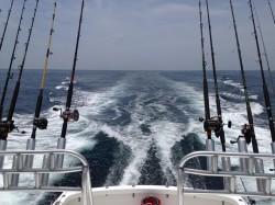 Sea Hunter trolling out of Orange Beach