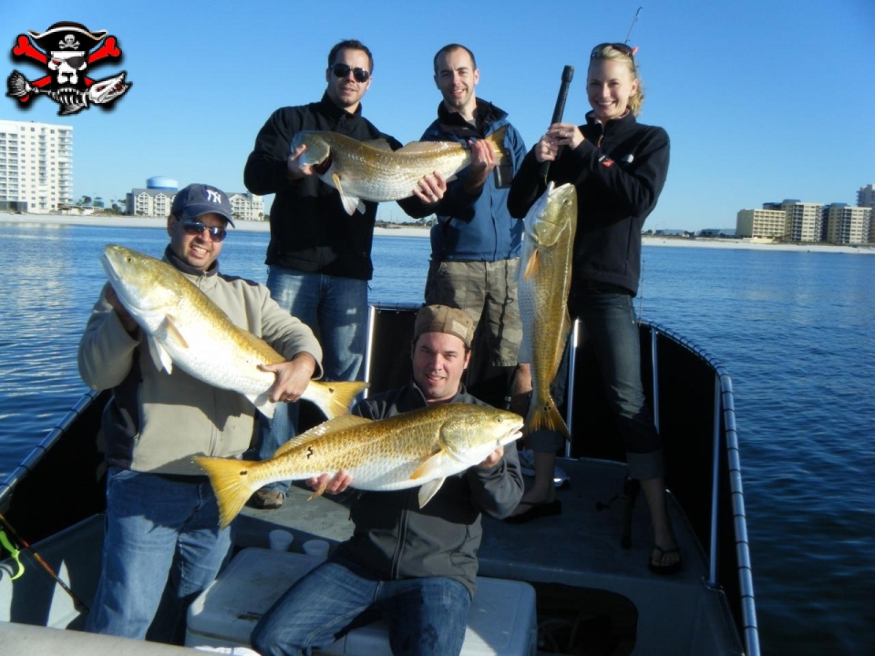 Sea dog inshore and nearshore fishing charters in orange beach for Saltwater fishing charters