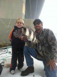 Inshore Fishing Sheepshead