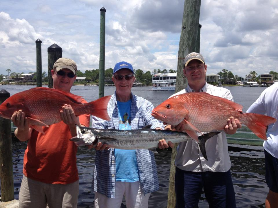 Salty dog offshore and deep sea fishing in orange beach for Saltwater fishing charters