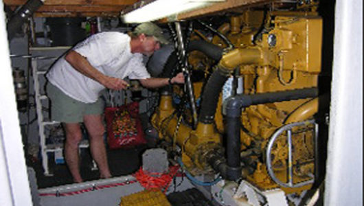 Sea Hunter Engine Room